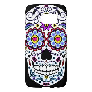Colorful Sugar Skull Phone Case