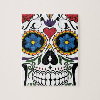Colorful Sugar Skull Puzzle