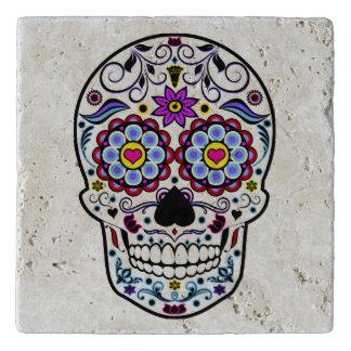 Colorful Sugar Skull Trivets