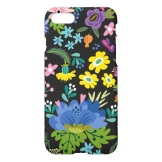 Colorful Summer Flower Pattern iPhone 7 Case