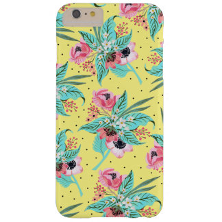 Colorful Summer Flowers - Yellow iPhone Case