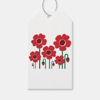 Colorful summer wedding : RED Edition Gift Tags