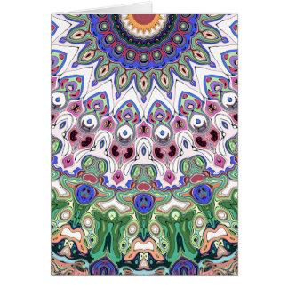 Colorful Sun Rays Card