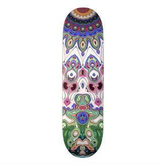 Colorful Sun Rays Skateboard Deck