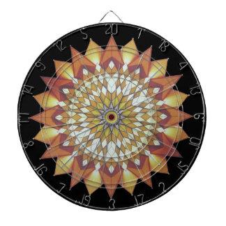 Colorful, sunny, Chinese pattern Dartboard