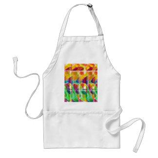 Colorful sunrise standard apron