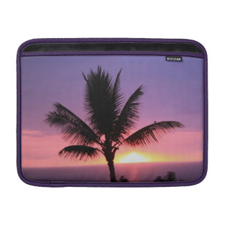 Colorful Sunset and Palm Mac Book Air Sleeve MacBook Air Sleeves