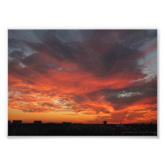 Colorful Sunset Photo Print