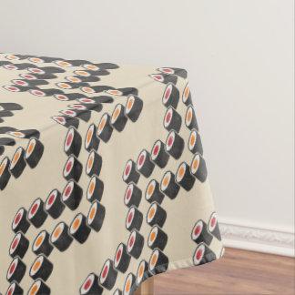 Colorful Sushi Chevron Tablecloth