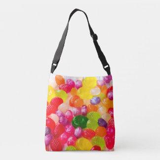 Colorful Sweet Candies Food Lollipop Crossbody Bag