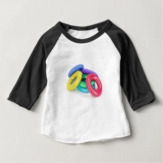 Colorful swim rings baby T-Shirt