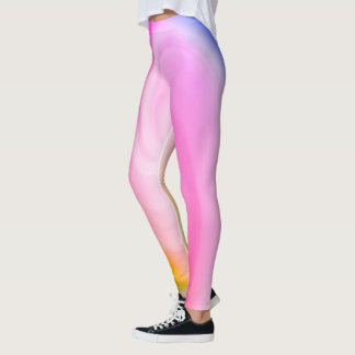 Colorful Swirl Leggings