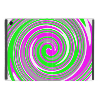 Colorful swirl pattern cover for iPad mini