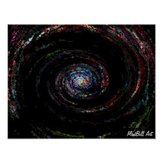 Colorful Swirl Poster