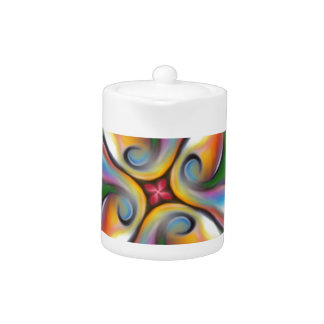 Colorful Swirling Softly Blended Paint Transitions