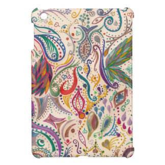 colorful swirls and doodles case for the iPad mini