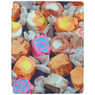 Colorful taffy candy iPad cover