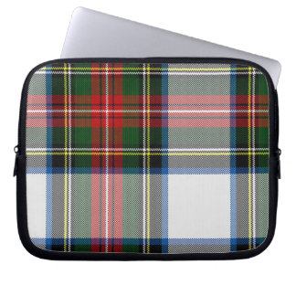 Colorful Tartan Plaid Laptop Cover Laptop Sleeve