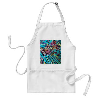 Colorful Teal Turquoise Pink Yarn Threads Craft Apron