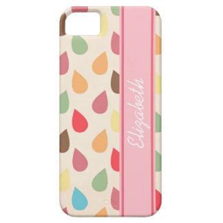 Colorful Teardrop, Raindrop Pattern iPhone 5 Case