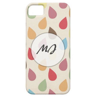 Colorful Teardrop, Raindrop Pattern iPhone 5 Cover