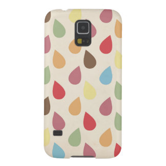 Colorful Teardrop, Raindrop Pattern Galaxy S5 Cover