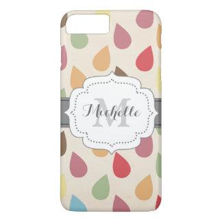 Colorful Teardrop, Raindrop Pattern iPhone 7 Plus Case