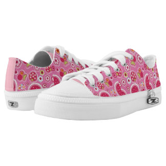 Colorful Tennis Shoes Printed Shoes