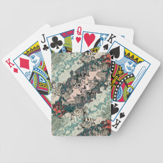 Colorful Textures Pattern 1 Bicycle Playing Cards