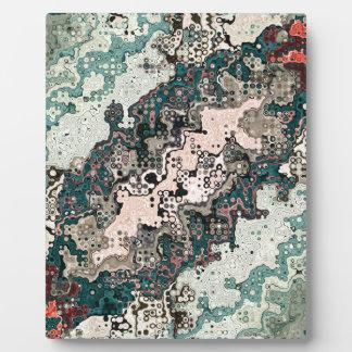 Colorful Textures Pattern 1 Plaque