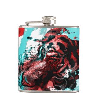 Colorful Tiger Animal Flasks
