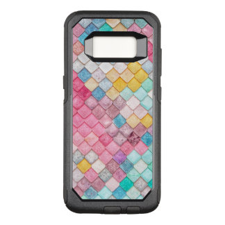 Colorful Tile Pattern OtterBox Commuter Samsung Galaxy S8 Case