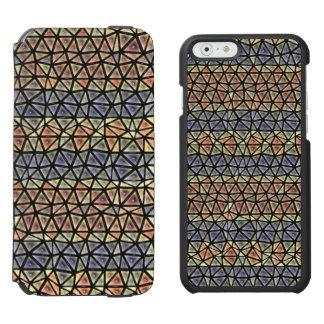 Colorful tiles pattern incipio watson™ iPhone 6 wallet case