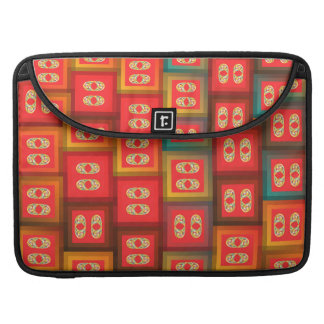 Colorful tiles sleeve for MacBook pro