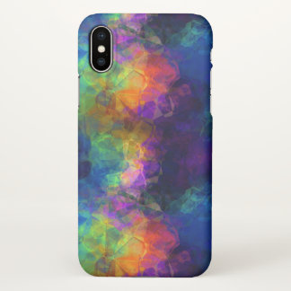 Colorful Tissue Paper Collage iPhone X Case