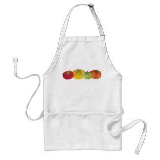colorful tomatoes kitchen cooking apron