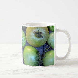 Colorful tomatoes print coffee mug