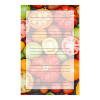Colorful Tomatoes Stationery