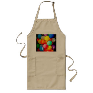 Colorful Toy Balloons Long Apron