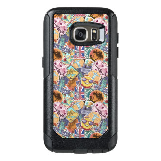 Colorful Travel Sticker Pattern OtterBox Samsung Galaxy S7 Case