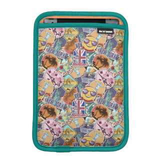 Colorful Travel Sticker Pattern Sleeve For iPad Mini
