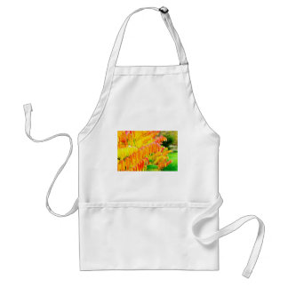 Colorful tree leaves in autumn season outdoors standard apron