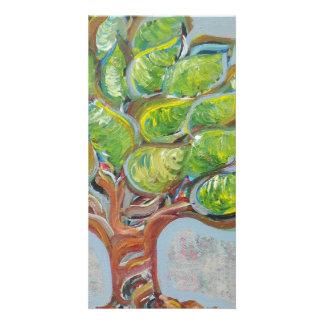 Colorful Tree Customised Photo Card