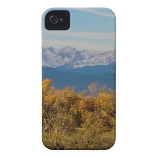 Colorful Trees and Majestic Mountain Peaks iPhone 4 Cover