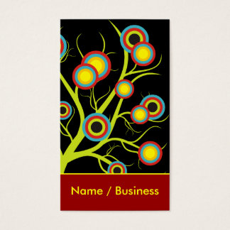 Colorful Trees  Business Cards.