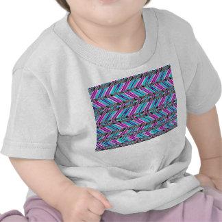 Colorful Trendy Chevron Zig Zag Geometric Pattern Shirts