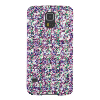 Colorful Trendy Glitter Texture Print GR2 Galaxy S5 Case
