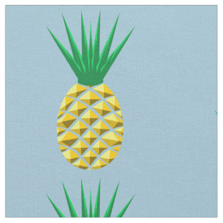 Colorful Trendy Pineapple Pattern Fabric