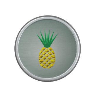Colorful Trendy Pineapple Pattern Speaker
