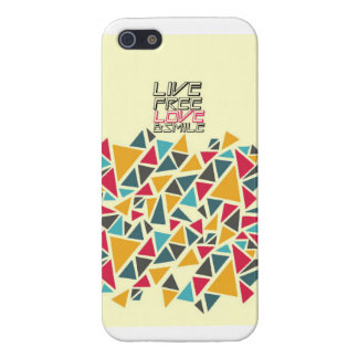 COLORFUL TRIANGLE iPHONE CASE iPhone 5 Cover